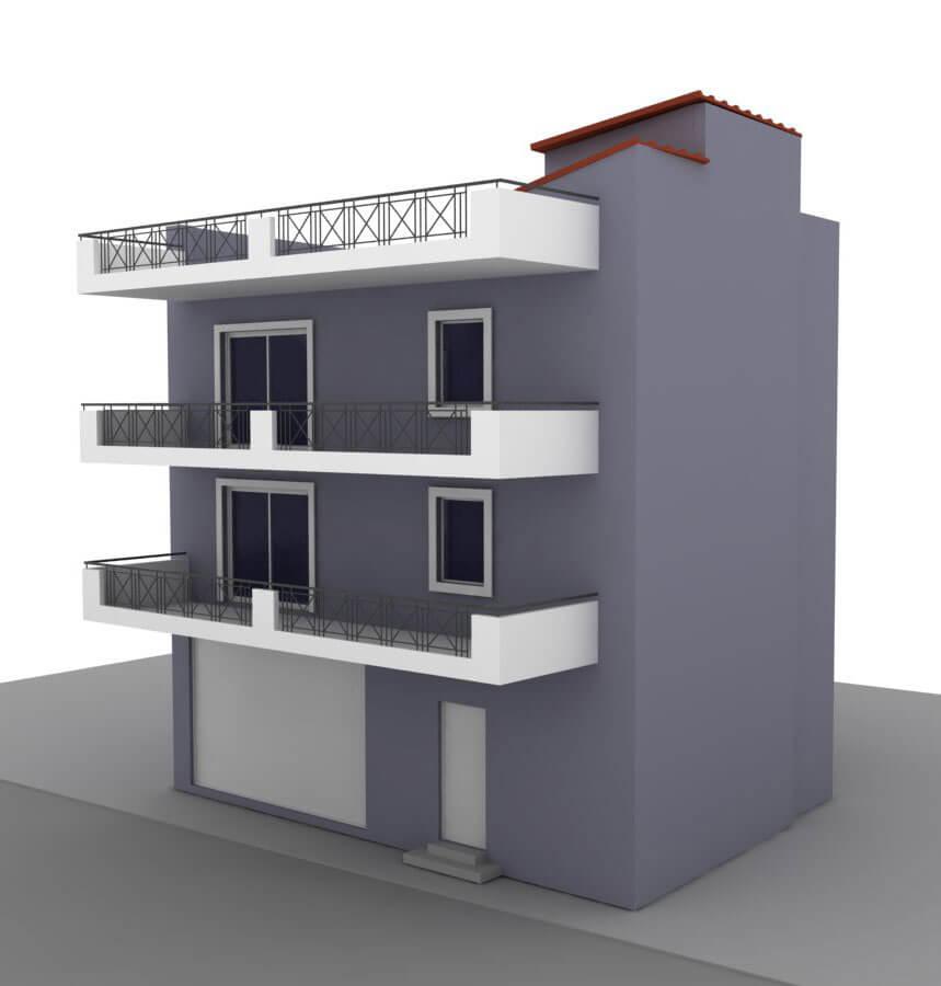 Κατοικία Συνεργείο Πειραιάς - Civil Design Group