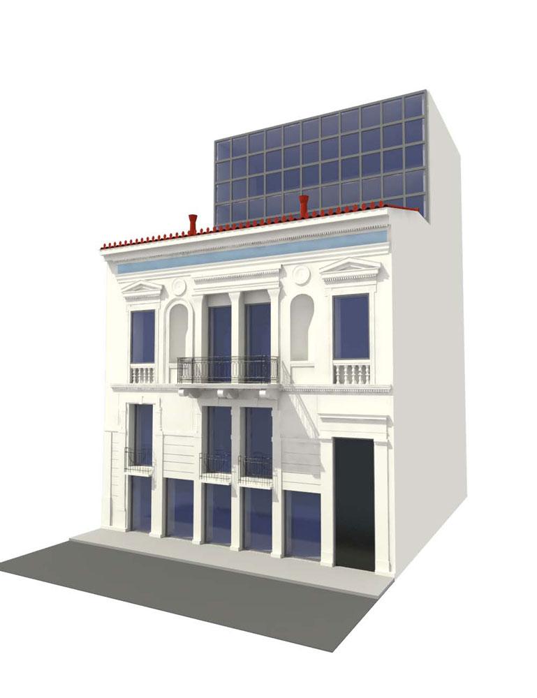 Κατάστημα Apivita Κολωνάκι Αθήνα - Civil Design Group